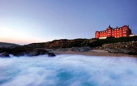 """Headland Hotel, Cornwall (where they filmed """"The Witches""""!)"""
