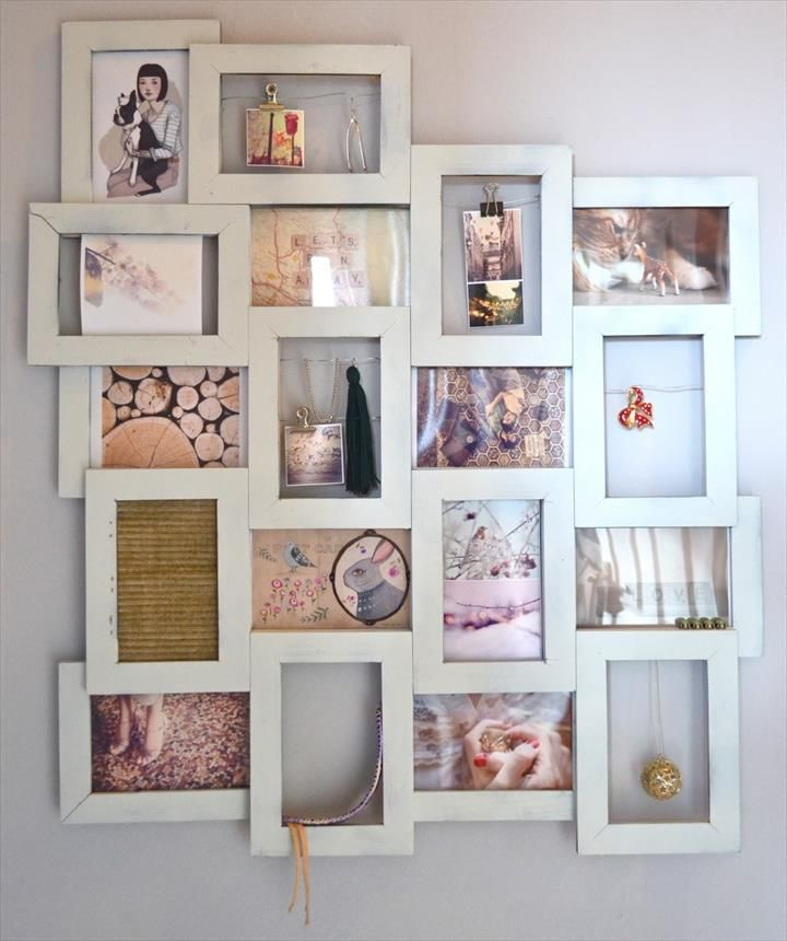 4056 best diy furniture ideas images on pinterest frames for Picture frame with clips diy