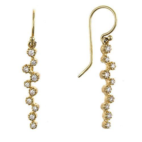 Italian Diamond Earrings