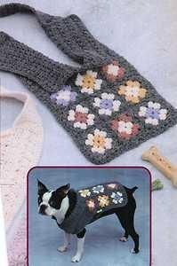 See Larger Image:GRANNY SQ DOG SWEATER CROCHET PATTERN
