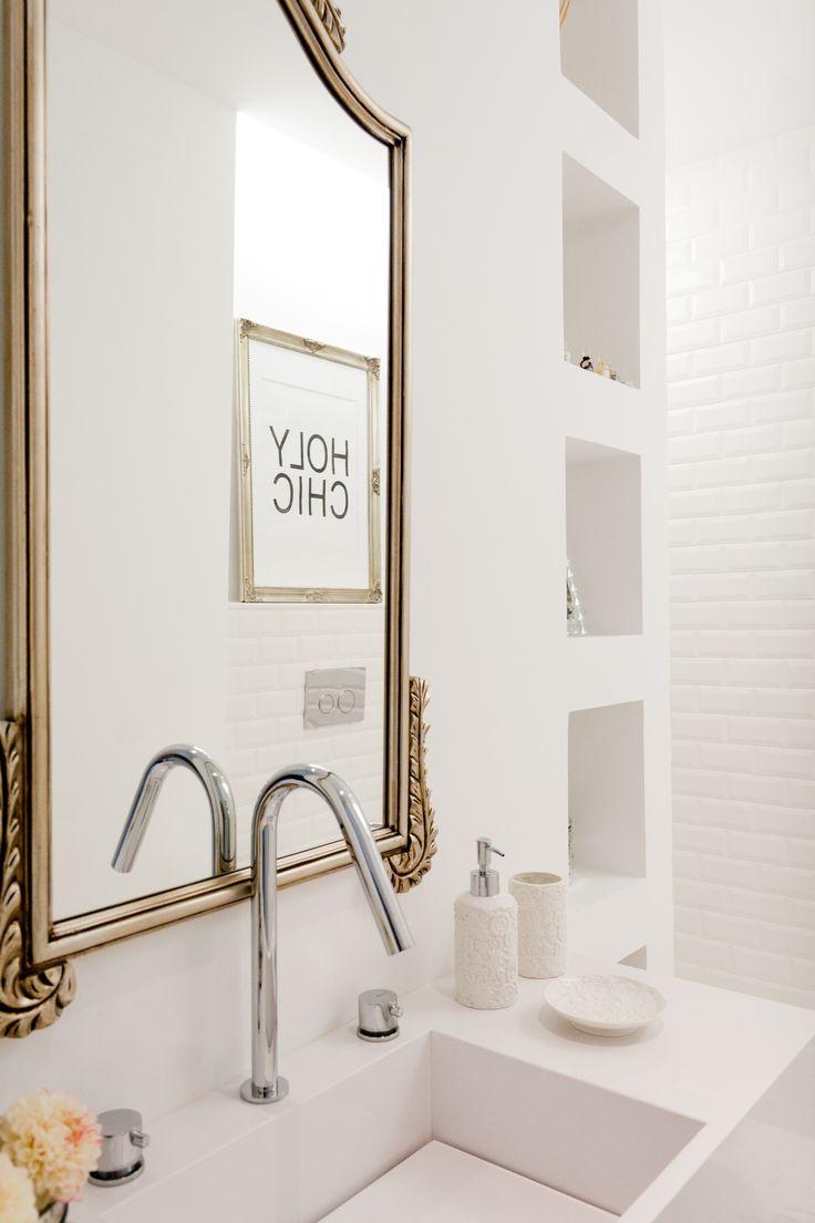 Silver Bathroom Decor