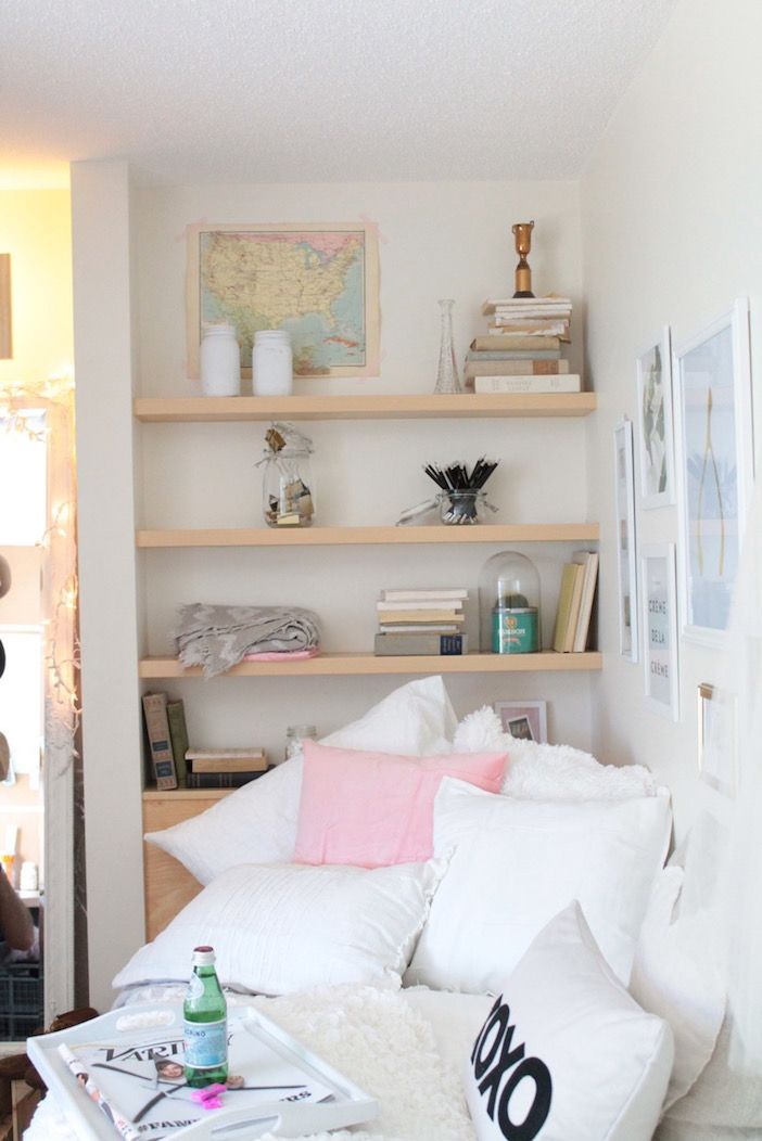 Jillian Harris: Decorating a Dorm Room for Under $500 - who says broke college life means sacrificing style?
