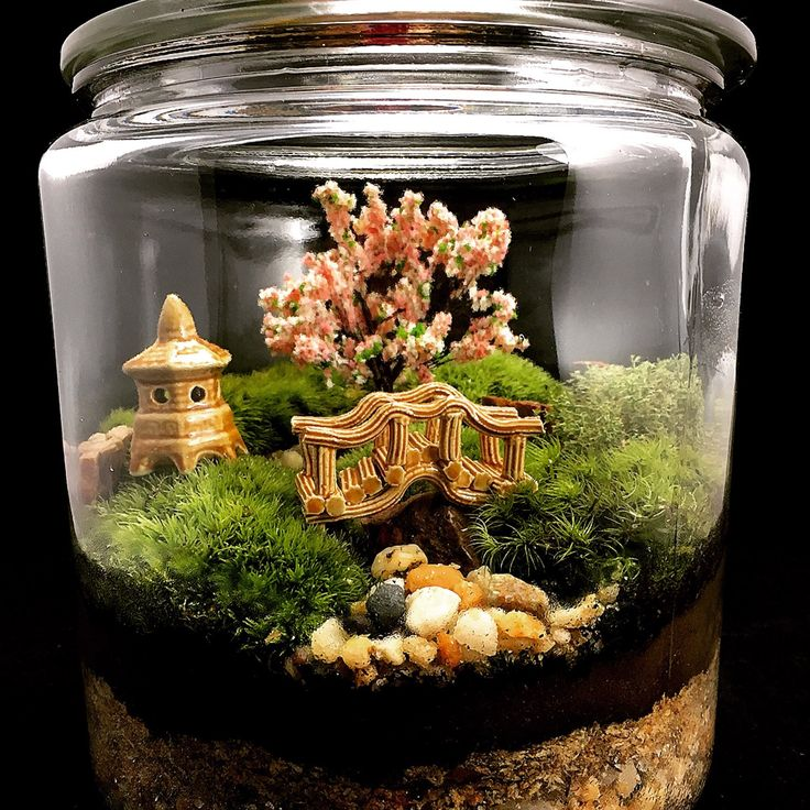 17 best images about japanese miniature garden on for Miniature japanese garden