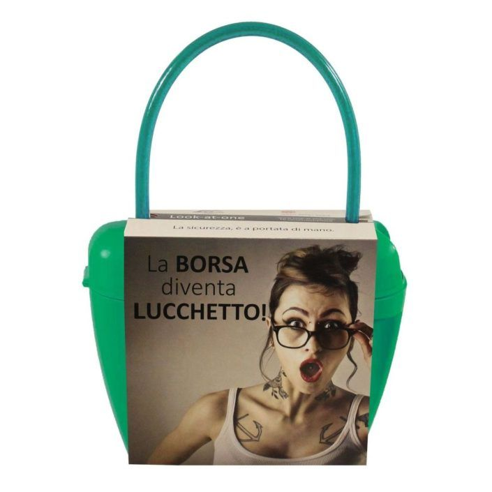 Look-At-One Borsa Lucchetto Smeraldo