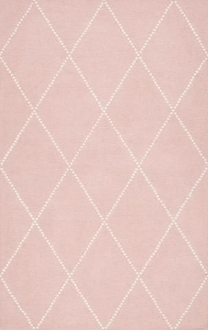 nuLOOM Hand Tufted Elvia Baby Pink | Modern Rug by nuLOOM at Contemporary Modern Furniture  Warehouse - 1