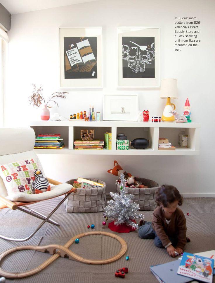 Anthology Magazine - 2012 Holiday Gift Guide - Ikea Lack shelves