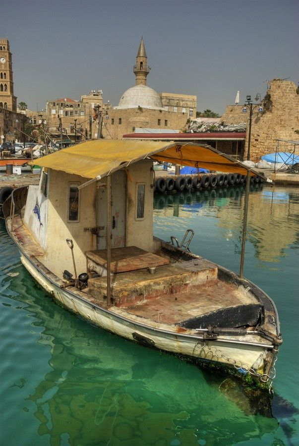 Acre Port, Israel one of the most ancient Sea Ports in the world