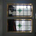 glas in lood ramen ontwerpen stainedglass windows middenmotief en rand
