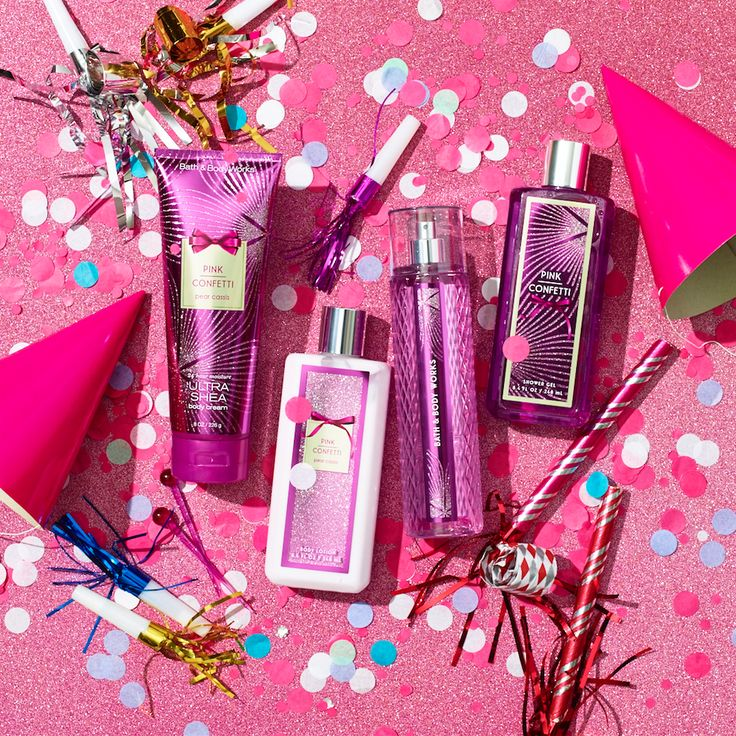It's not a party without confetti! With pink raspberry & jasmine petals, we know you're going to LOVE NEW Pink Confetti!