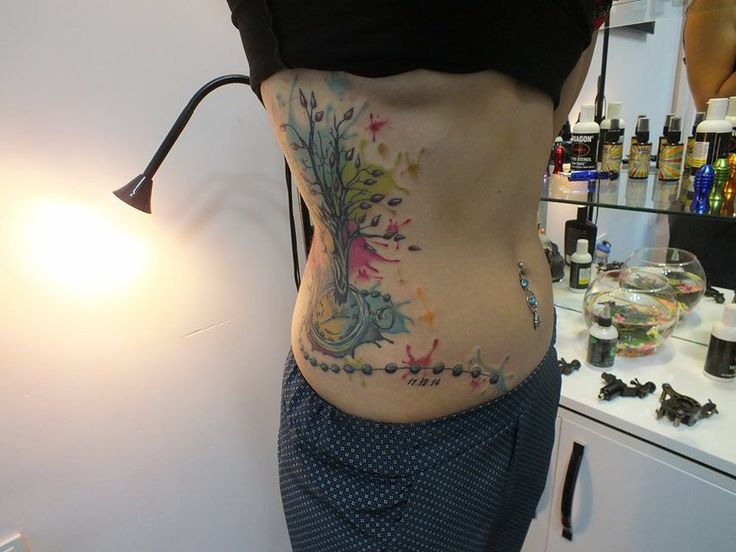 Water color tattoo Can Lupo Tarz wear & Tattoo