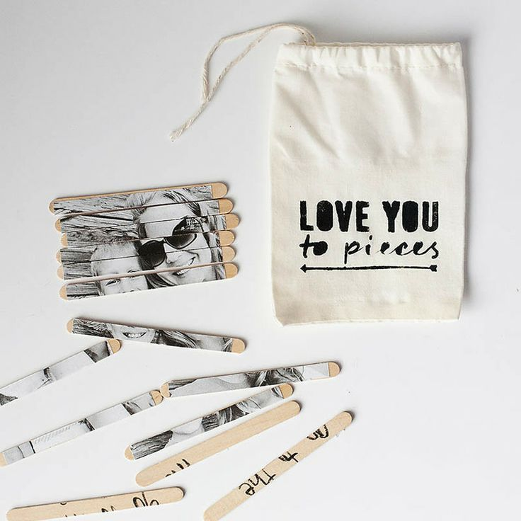 Love you to Pieces // DIY Valentine's Day Gift Idea