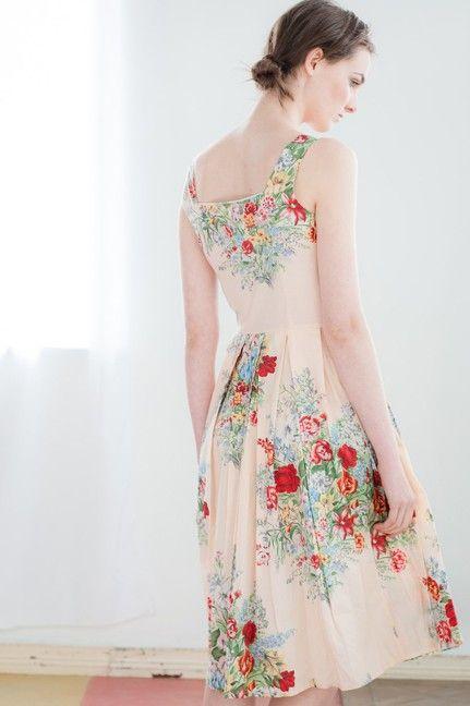Pretty new dress at Lazybones.: Summer Dresses, Floral Prints, Alice Dresses, Vintage Floral, Floral Frock, Vintage Inspiration Dresses, New Dresses, Shorts Dresses, Floral Dresses