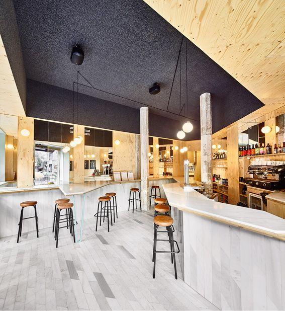 Kfc Restaurant By Cbte Mimarlik Turkey Retail Design: Gallery Of Sandwich Bar Blitz / FLEXOARQUITECTURA