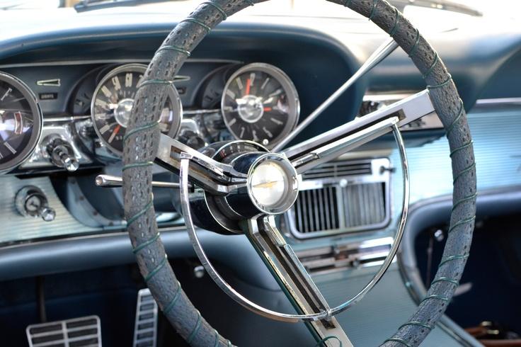 '63 Thunderbird dash