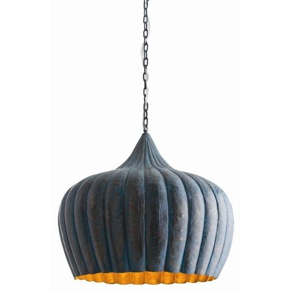 Arteriors Granville Pendant (¥142,185) ❤ liked on Polyvore featuring home, lighting, ceiling lights, outdoor hanging lamp, outside hanging lights, outdoor hanging lights, outside lamps and brass lamp