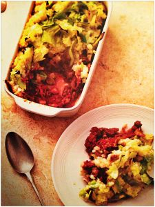 Lightweight Cottage Pie, The Fast Diet Recipe Book - for the 5:2 diet