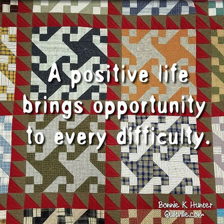 I believe this, whatever you want to call it. Clouds have silver linings, the sun rises tomorrow, we've all heard it before but I really believe it's true. Every difficulty brings an opportunity for growth. It's how you greet those opportunities that make all the difference in the world. Swing Your Partner quilt from my book Scraps & Shirttails.  This quilt also lives at my dad's and I'm happy to visit it whenever I can! . . #quilt #quilting #patchwork #quiltville #bonniekhunter #scrapquilt…
