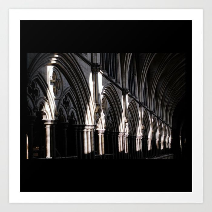 #Gothic #Cathedral #Salisbury #GreatBritain #England #photography #poster #homedecor #artprint