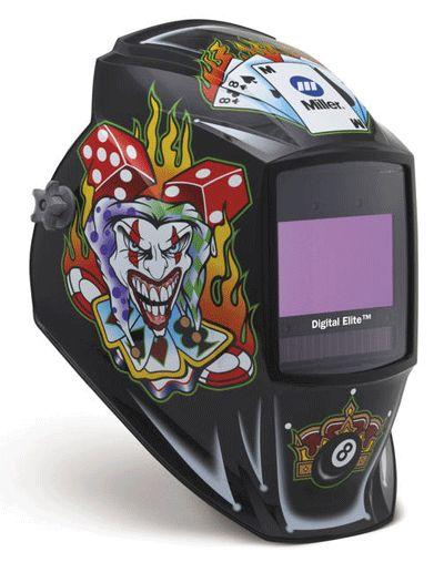 Miller Welding Helmet - The Joker Digital Elite Lens 257218