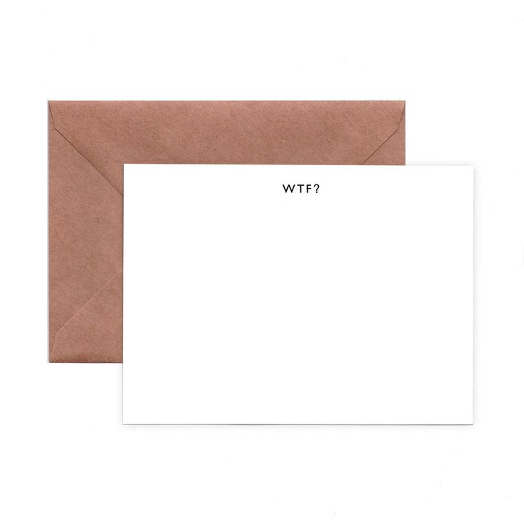 WTF A2 NOTE CARDS