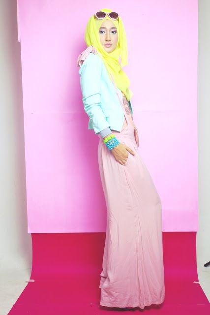 Dian Pelangi -- hijab outfit