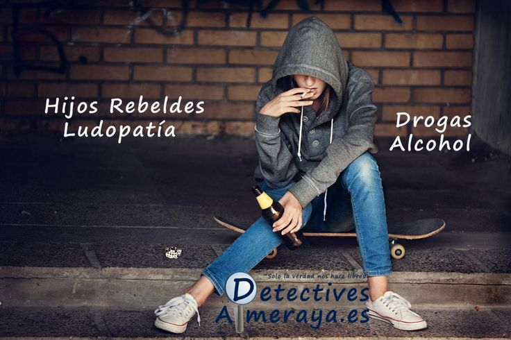#Ludopatia #hijos rebeldes #drogas #alcohol #Almeria #Detectives #Familia