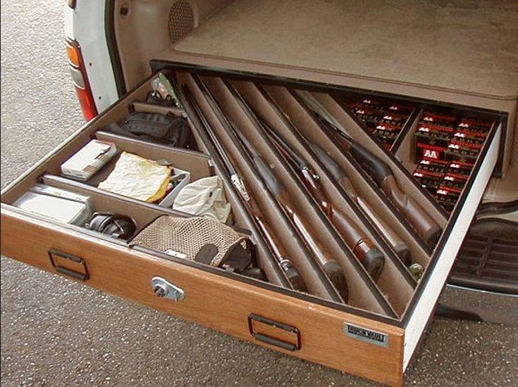 Suv Lockable Gun Vault By Www Truckvault Com Misc