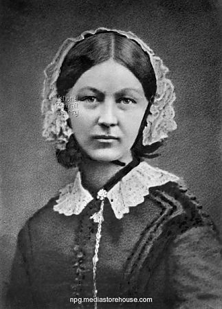 """Florence Nightingale: """"Florence Nightingale, a nurse, spent her night rounds giving personal care to the wounded, establishing her image as the 'Lady with the Lamp.'  http://www.biography.com/people/florence-nightingale-9423539"""