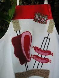 molde desenhos para avental de churrasco - Pesquisa Google