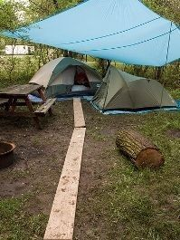 Tips for camping in the rain. - Outdoor Ideas