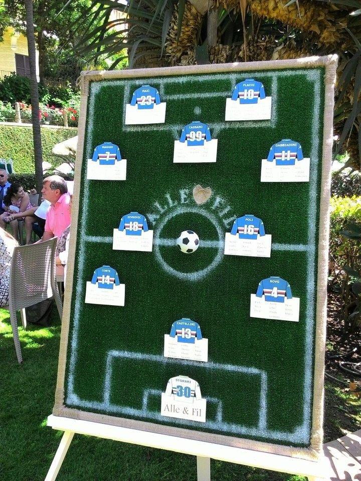 Matrimonio Tema Calcio : Oltre fantastiche idee su matrimonio di calcio