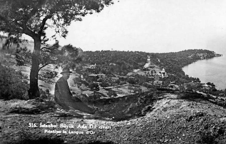 Büyükada İstanbul Dil civarı / 1916
