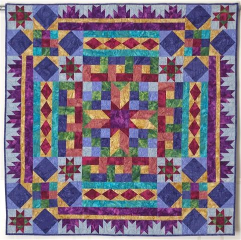 BLOCK BUFFET Mystery Quilt by Linda J. Hahn  This is gorgeous!  The color combinations couldn't be more appealing!!!Quilt Ideas, Products Details, Buffets Bali, Quilt Patterns, Quilt Kits, Mysteries Quilt, Buffets Quilt, Bali Quilt, Block Buffets