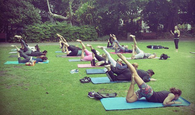 Outdoor Weekend Yoga Classes with The Om Revolution in Cape Town   Affordable Workout Sessions, Outside Fitness Specials, Beginners and Advanced Stretch Lessons in Western Cape 14-November-2015