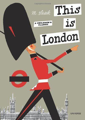 This is London, by Sasek #kids #books