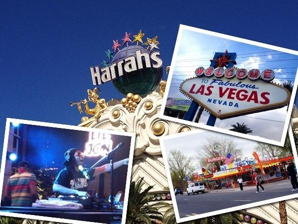 Lauren's USA Contiki adventure - Las-Vegas