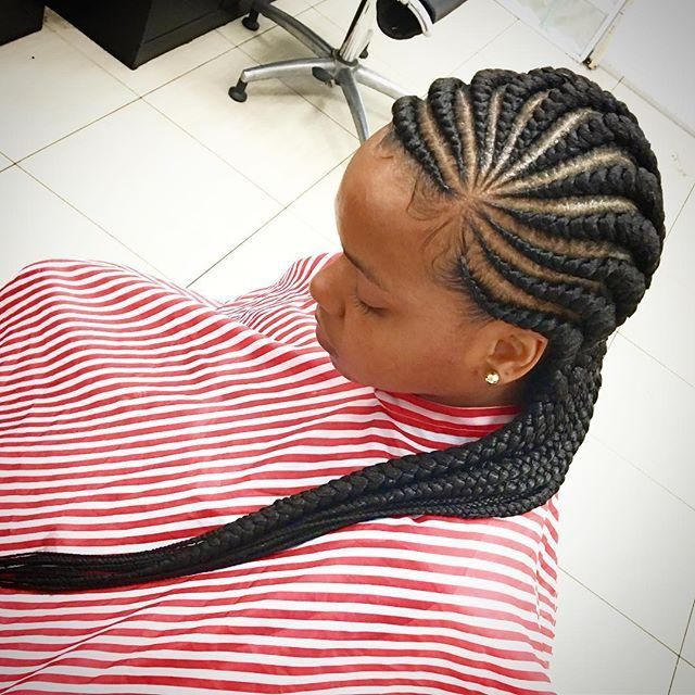 latest ghana weaving hair style 2016                              …