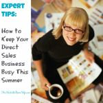 How to Keep Your Home Party Business Busy This Summer
