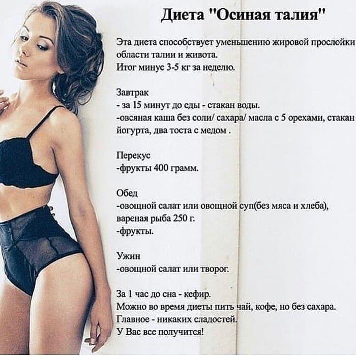 Самое эффективное похудение диета