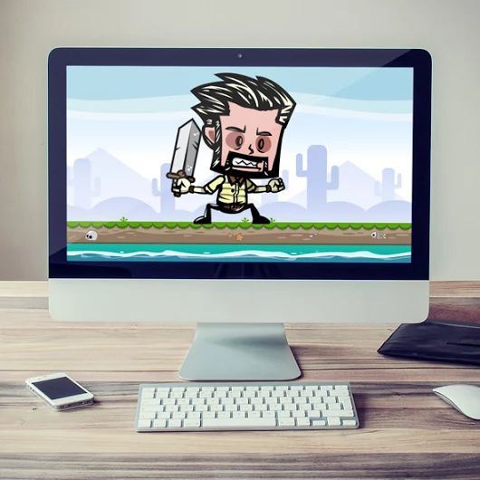 Bearded Male Game Character Sprites - Bevouliin