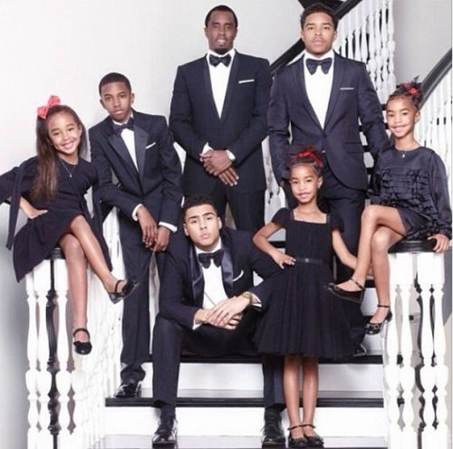 P. Diddy & Kids: & Happy Thanksgiving