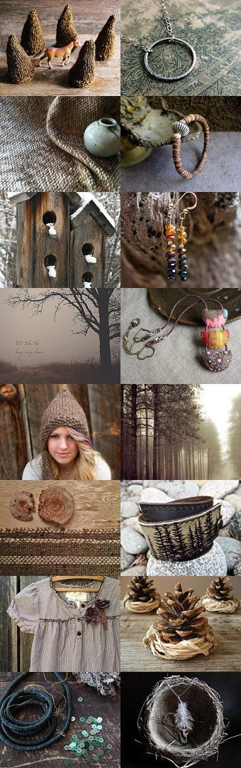 Lets go to the forest by Anna Borysewicz-Segit on Etsy--Pinned with TreasuryPin.com