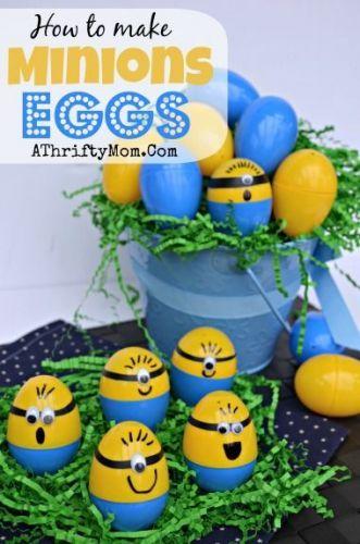 Easter Minions Eggs