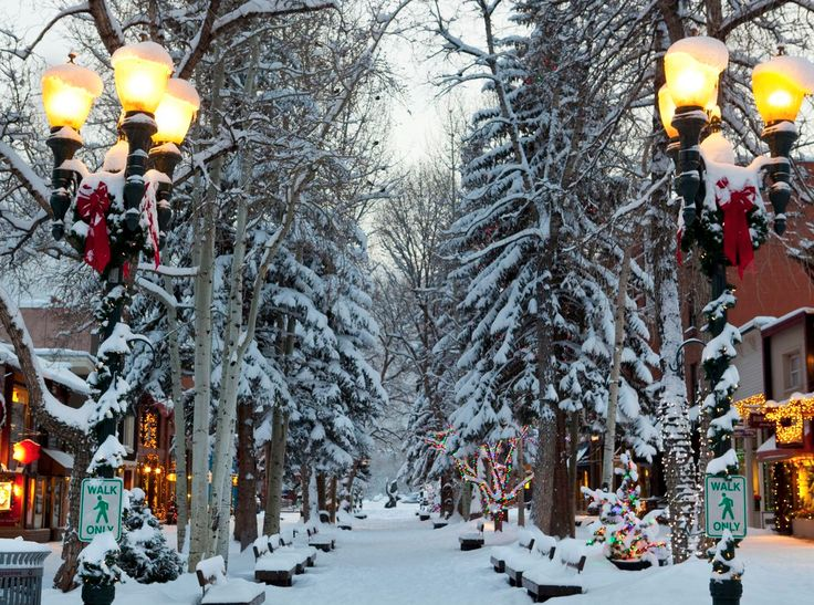 A combination of luxe living and quaint charm helped this Rocky Mountain town capture the spot as the merriest of them all.