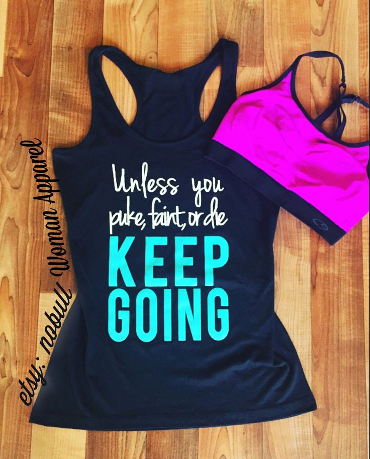 KEEP GOING Workout Tank Top Shirt, Workout Clothes, Workout Vest, Workout Shirt, Motivational Clothi – workout clothes