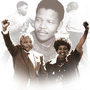 Nelson Mandela & Winnie