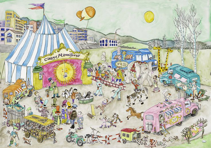 Circ acampat - Pilarin Bayes