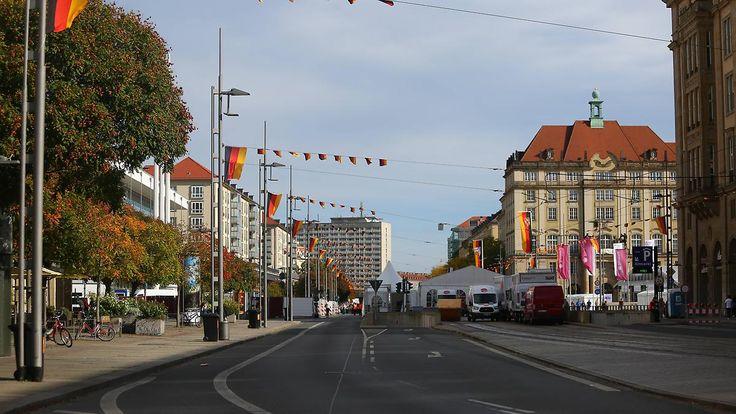 2600 Polizisten für die Sicherheit: Dresden feiert die Deutsche Einheit