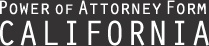 Power of Attorney Form California | California Power of Attorney Docs