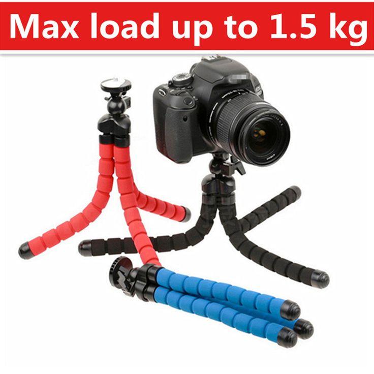 Flexibele camera statief flexibele been mini statief voor gopro digitale camera en telefoon dragende 1.5 kg gorillapod
